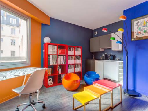 Rénovation de bureaux à Neuilly