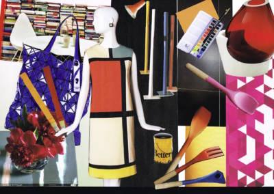 Décoration colorée de bureaux EAD à Neuilly - Planche tendance couleurs 1, par Béatrice Elisabeth, Décoratrice UFDI à Neuilly et Paris