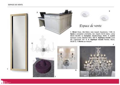 Book Déco boutique chaussures - Sélection Accueil, par Béatrice Elisabeth, Décoratrice UFDI à Neuilly 92