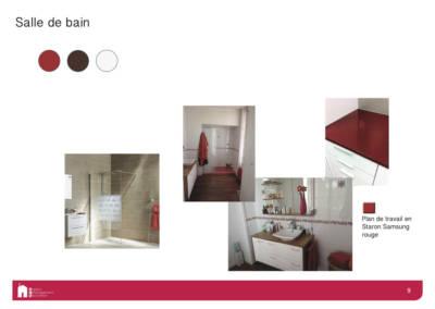 Décoration d'une maison à Garches - Book déco pour la salle de bain, par Béatrice Elisabeth, Décoratrice UFDI à Neuilly et Paris