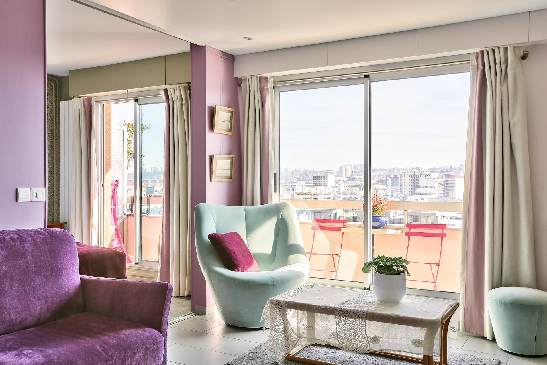 Décoration appartement Paris 19e, par Béatrice Elisabeth, Décoratrice UFDI à Neuilly et Paris