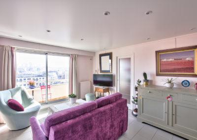 Rénovation appartement Paris 19 - L'entrée, par Béatrice Elisabeth, Décoratrice UFDI à Neuilly et Paris