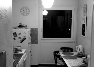 Rénovation appartement Paris 19ème - Cuisine avant les travaux
