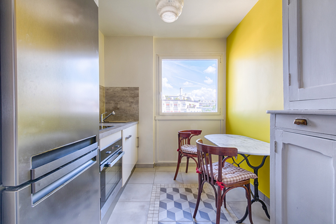 Rénovation appartement Paris 19e, par Béatrice Elisabeth, Décoratrice UFDI à Neuilly et Paris