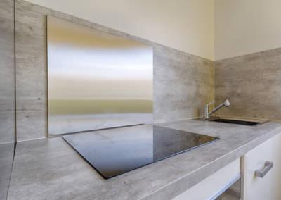 Rénovation appartement Paris 19ème - La cuisine - Le plan de cuisson, par Béatrice Elisabeth, Décoratrice UFDI à Neuilly et Paris
