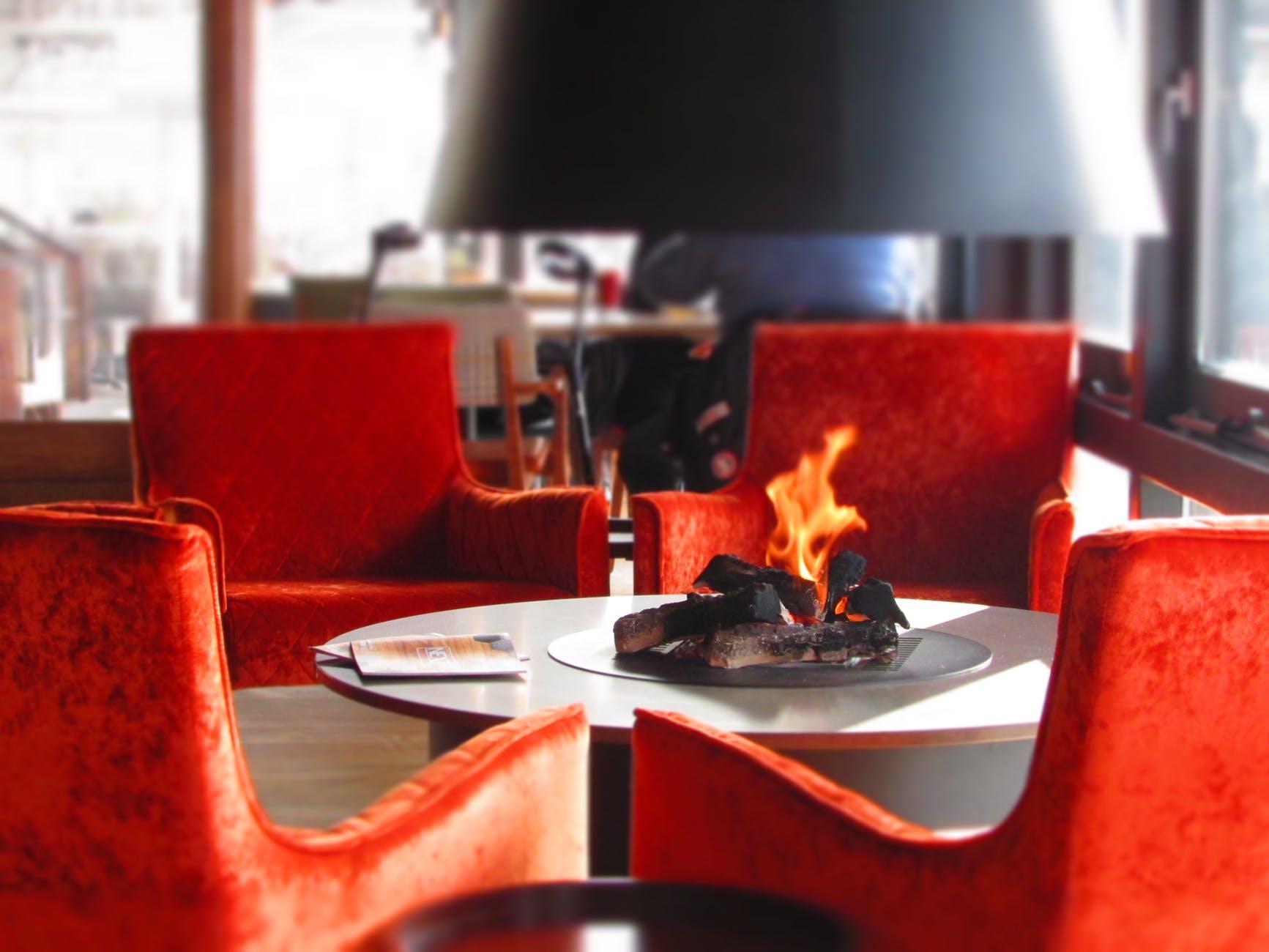 Café • Hôtel • Restaurant,  par Béatrice ELISABETH, Décoratrice UFDI à Neuilly et Paris