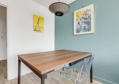 Décoration d'un appartement aux Buttes Chaumont - La salle à manger, par Béatrice Elisabeth, Décoratrice UFDI à Neuilly et Paris
