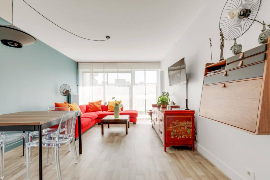 Rénovation appartement Buttes Chaumont Paris 19e