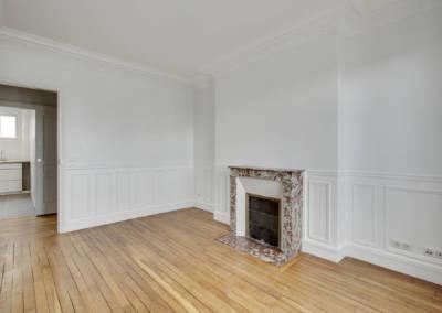 Rénovation appartement à Courbevoie - La salle à manger, par Béatrice Elisabeth, Décoratrice UFDI à Neuilly et Paris