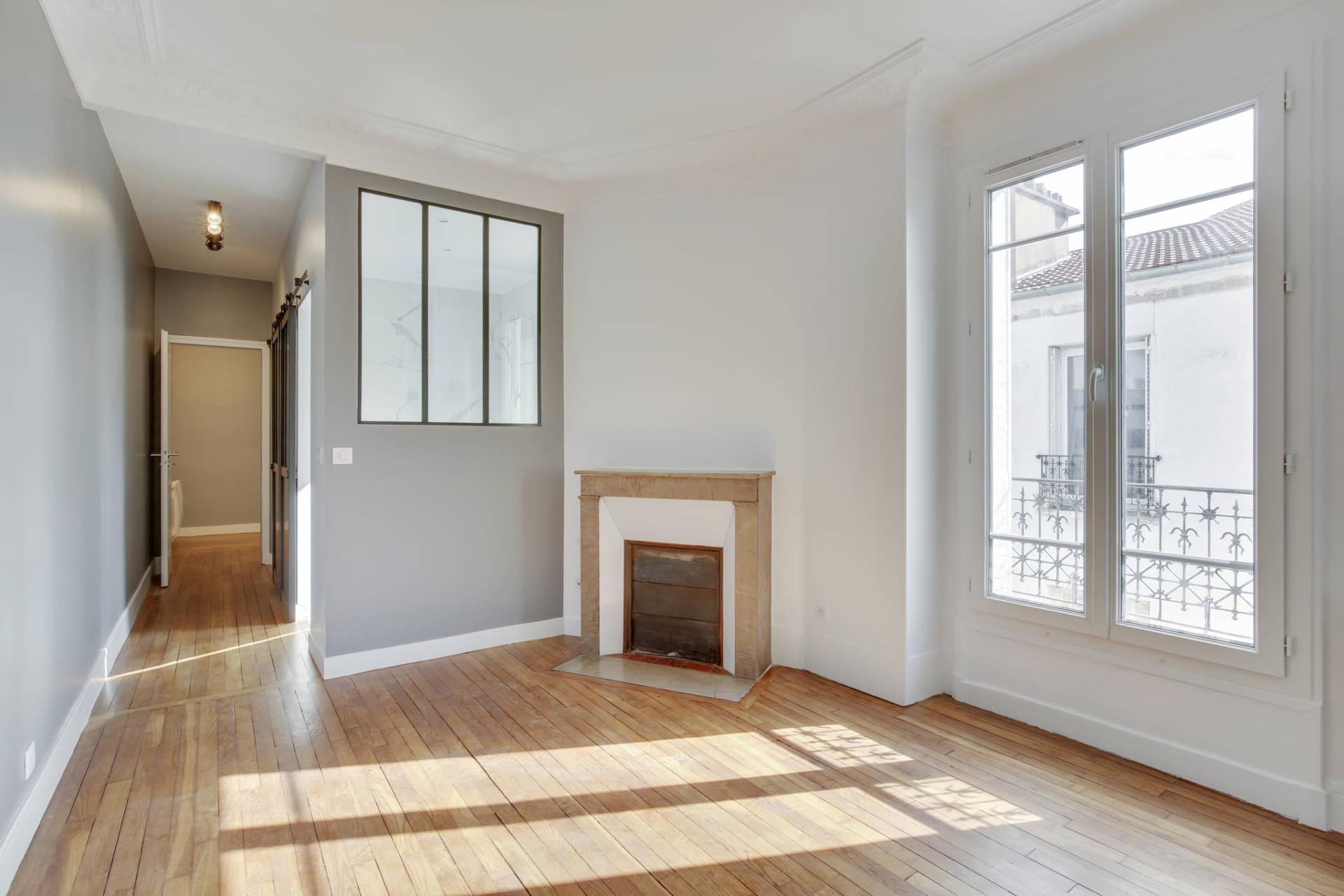 Rénovation appartement à Courbevoie - Le salon rénové, par Béatrice Elisabeth, Décoratrice UFDI à Neuilly et Paris