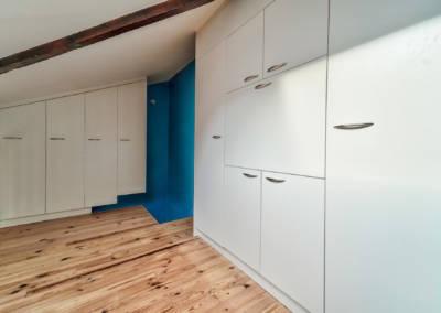 Décoration Appartement à Suresnes - Etage - Les rangements de la chambre, par Béatrice Elisabeth, Décoratrice UFDI à Neuilly et Paris