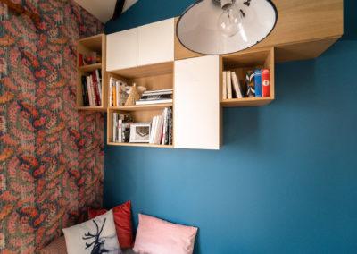 Décoration Appartement à Suresnes - Rez de Chaussée - Rangements sur mesure, par Béatrice Elisabeth, Décoratrice UFDI à Neuilly et Paris