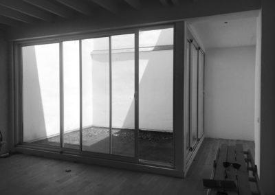 Espace de Formation Paris 12 - Avant travaux - Le patio