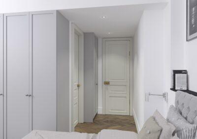 Appartement de style à Paris 7ème - Simulation 3D pour le nouveau dressing, par Béatrice Elisabeth, Décoratrice UFDI à Neuilly et Paris