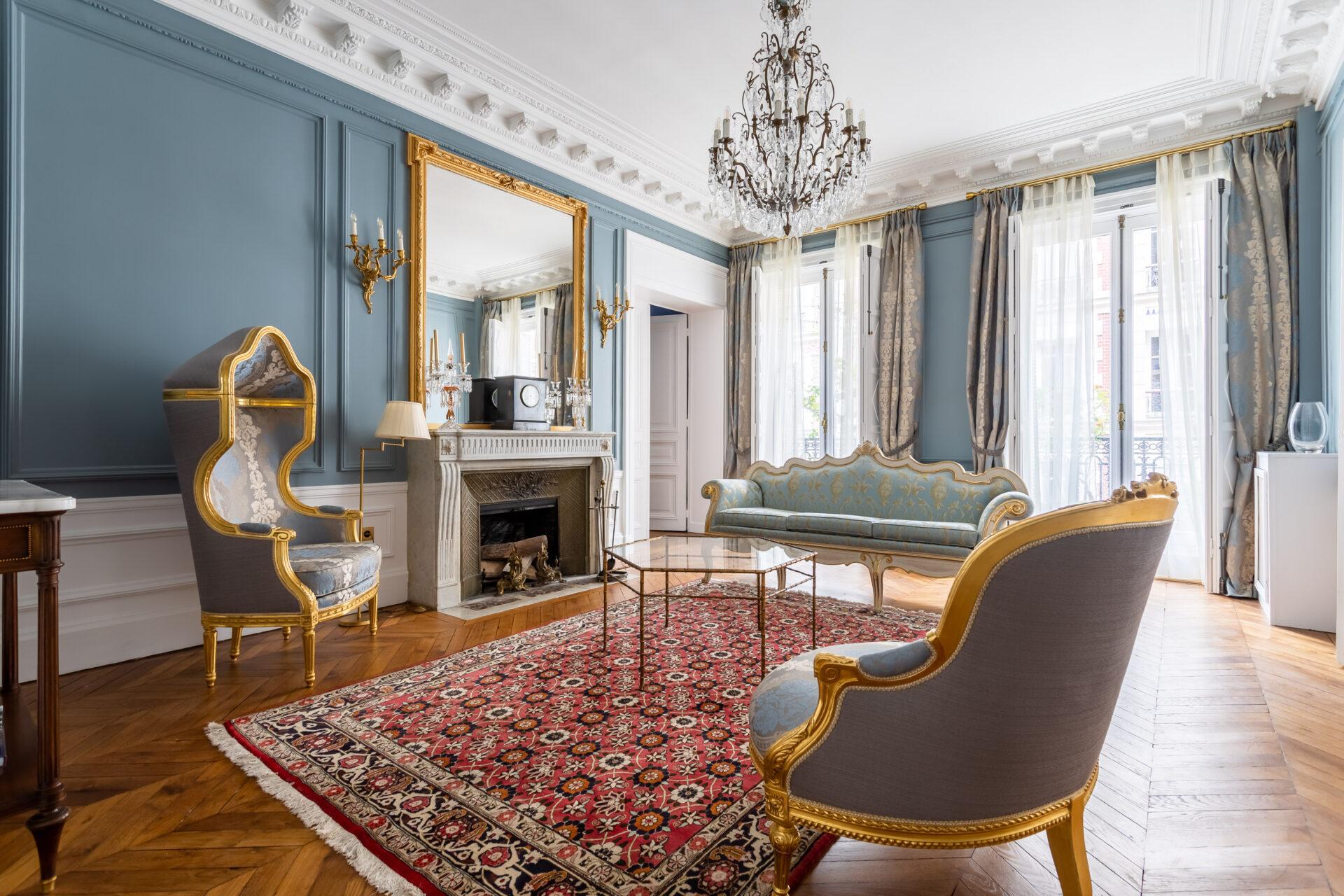 Rénovation Appartement de style à Paris 7e, par Béatrice Elisabeth, Décoratrice UFDI à Neuilly et Paris