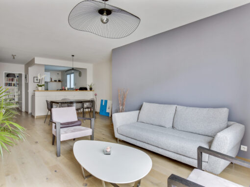 Rénovation d'un appartement à Courbevoie