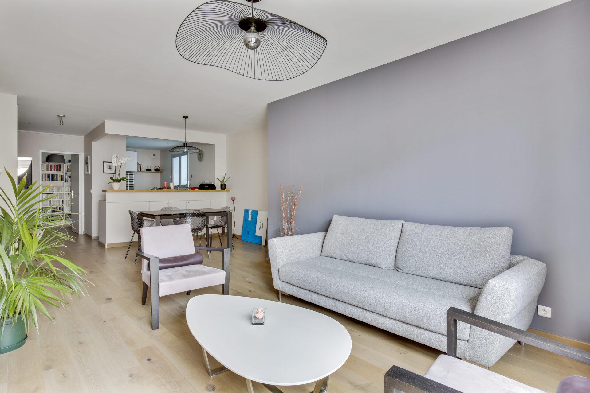 Décoration et réagencement Appartement à Courbevoie, par Béatrice Elisabeth, Décoratrice UFDI à Neuilly et Paris