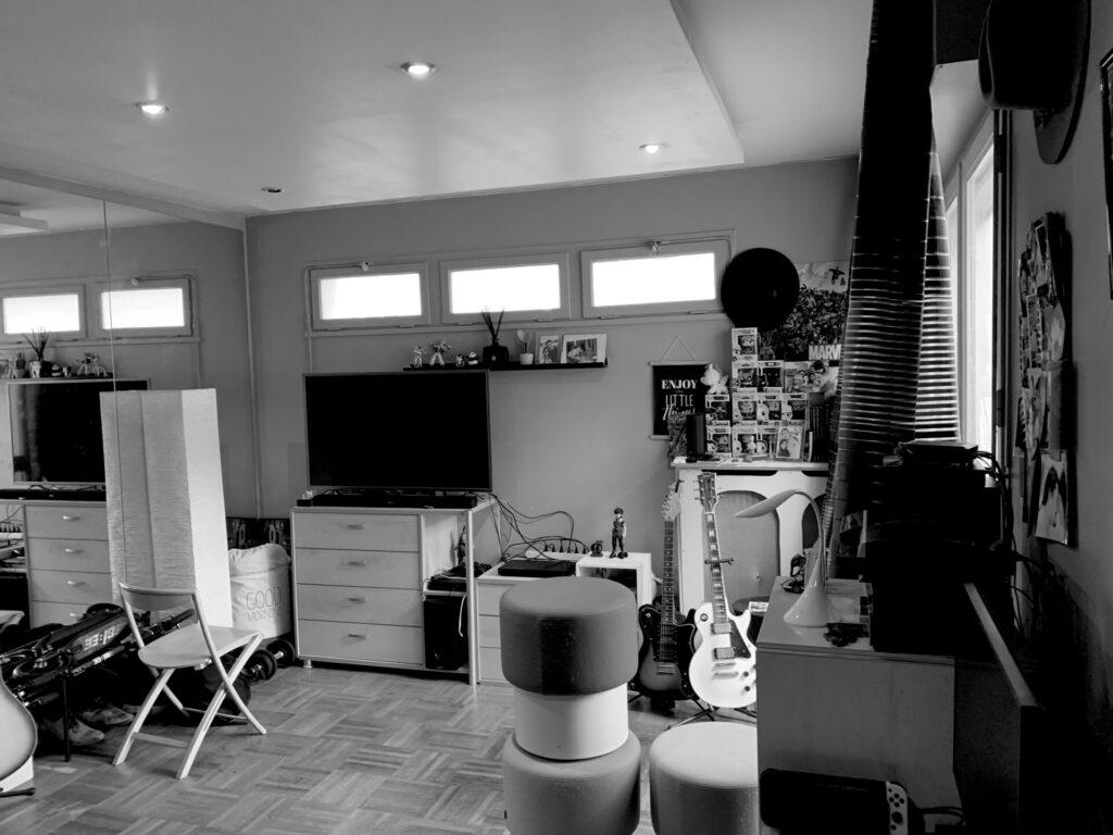 Conception d'un studio à Boulogne - Avant travaux 1