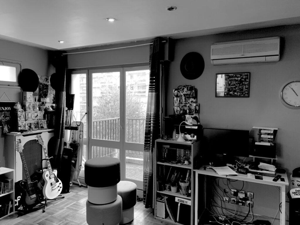 Conception d'un studio à Boulogne - Avant travaux 2