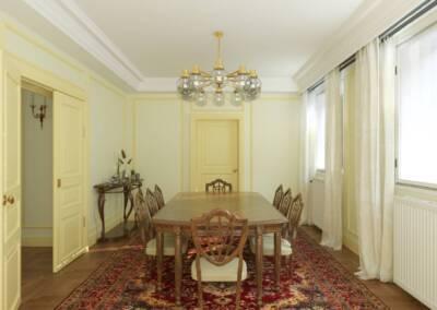 Projet d'un hôtel particulier à Neuilly sur Seine - La salle à manger, par Béatrice Elisabeth, Décoratrice UFDI à Neuilly et Paris