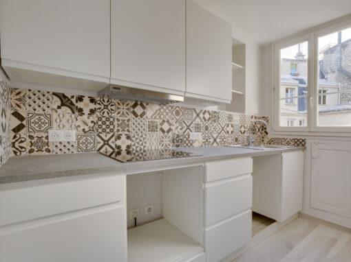Réagencement Appartement pour location à Paris 17ème