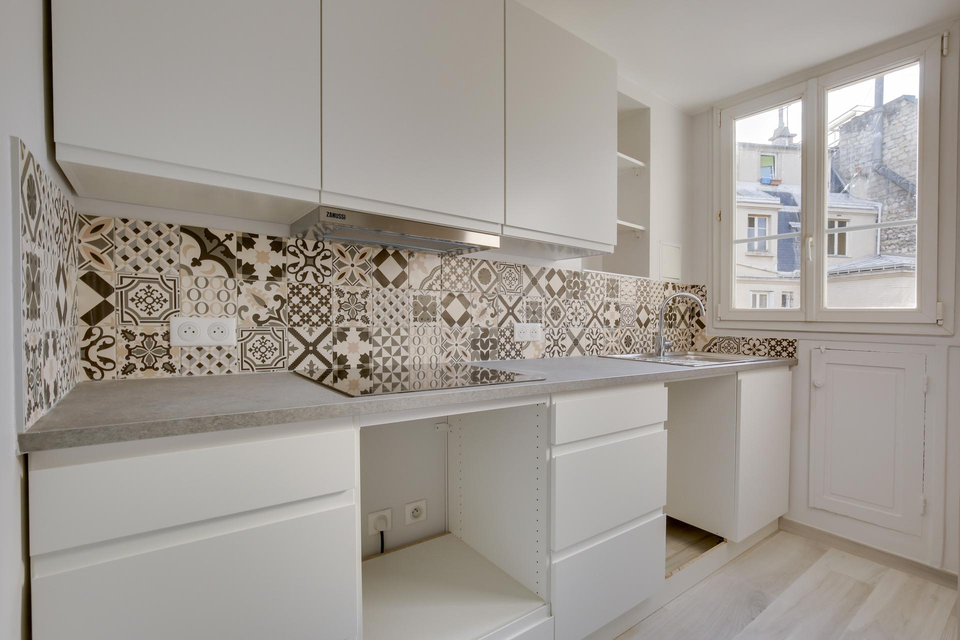 Réagencement Appartement pour location à Paris 17ème, par Béatrice Elisabeth, Décoratrice UFDI à Neuilly et Paris