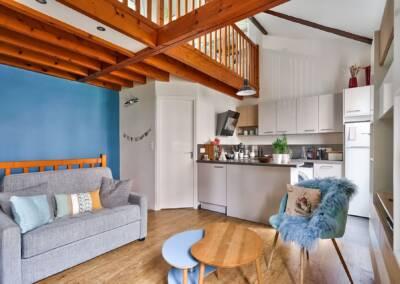 Décoration et réagencement d'un appartement à suresnes - vue de l'entrée, par Béatrice Elisabeth, Architecte d'intérieur UFDI à Neuilly et Paris